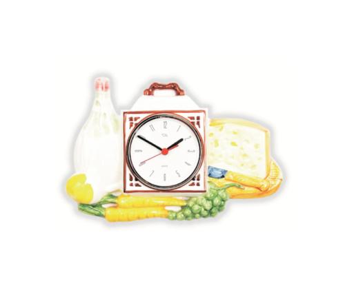 Reloj de cocina resina alta calidad 40x28cm relojesdeco - Relojes para cocina ...