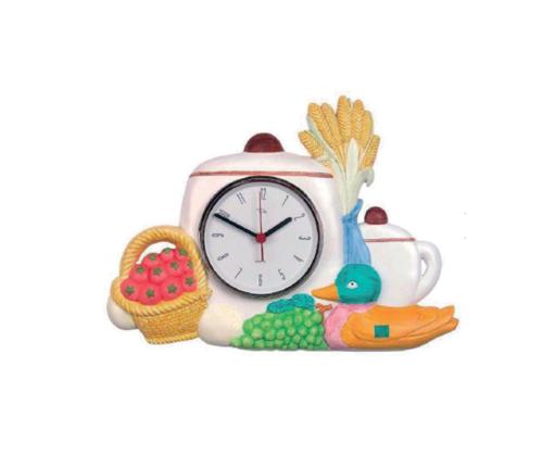 Reloj de cocina resina alta calidad 40x21cm relojesdeco - Relojes para cocina ...