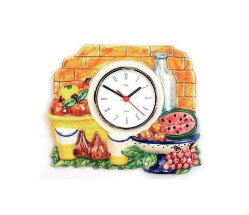 Reloj de cocina resina alta calidad 33x28cm relojesdeco - Relojes para cocina ...