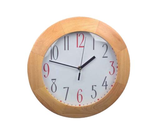 Reloj de pared madera haya clasico 33cm relojesdeco - Reloj pared madera ...