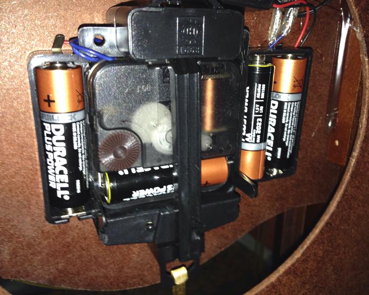 Maquinaria reloj pendulo unidad de accionamiento de p - Maquinaria de reloj de pared con pendulo ...