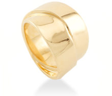 anillo gold steel