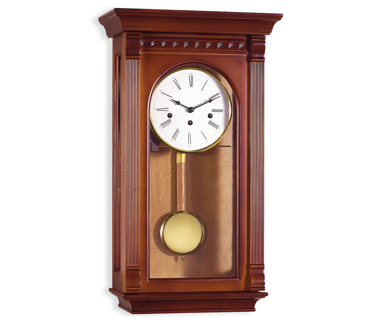Reloj de pendulo de pared mec nico 58 cm alta calidad - Relojes rusticos de pared ...