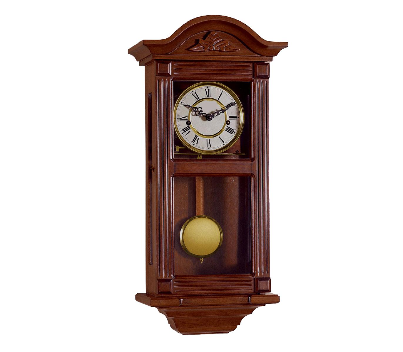 Reloj de pendulo de pared mec nico 66 cm alta calidad - Relojes de pared ...