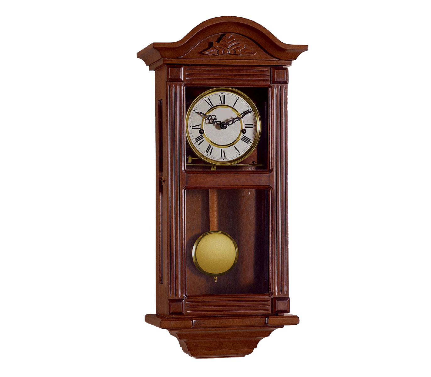 Reloj de pendulo de pared reloj con carrillon maquinaria - Relojes rusticos de pared ...