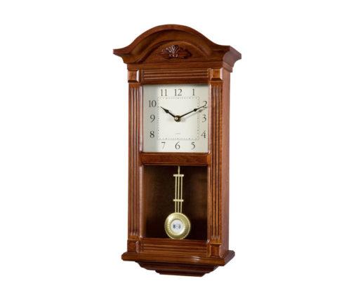 Reloj de pendulo de pared 51cm con carill n soneria - Maquinaria de reloj de pared con pendulo ...