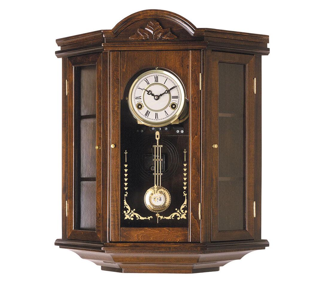 Reloj de pendulo reloj con carrillon 55cm con carill n - Relojes rusticos de pared ...