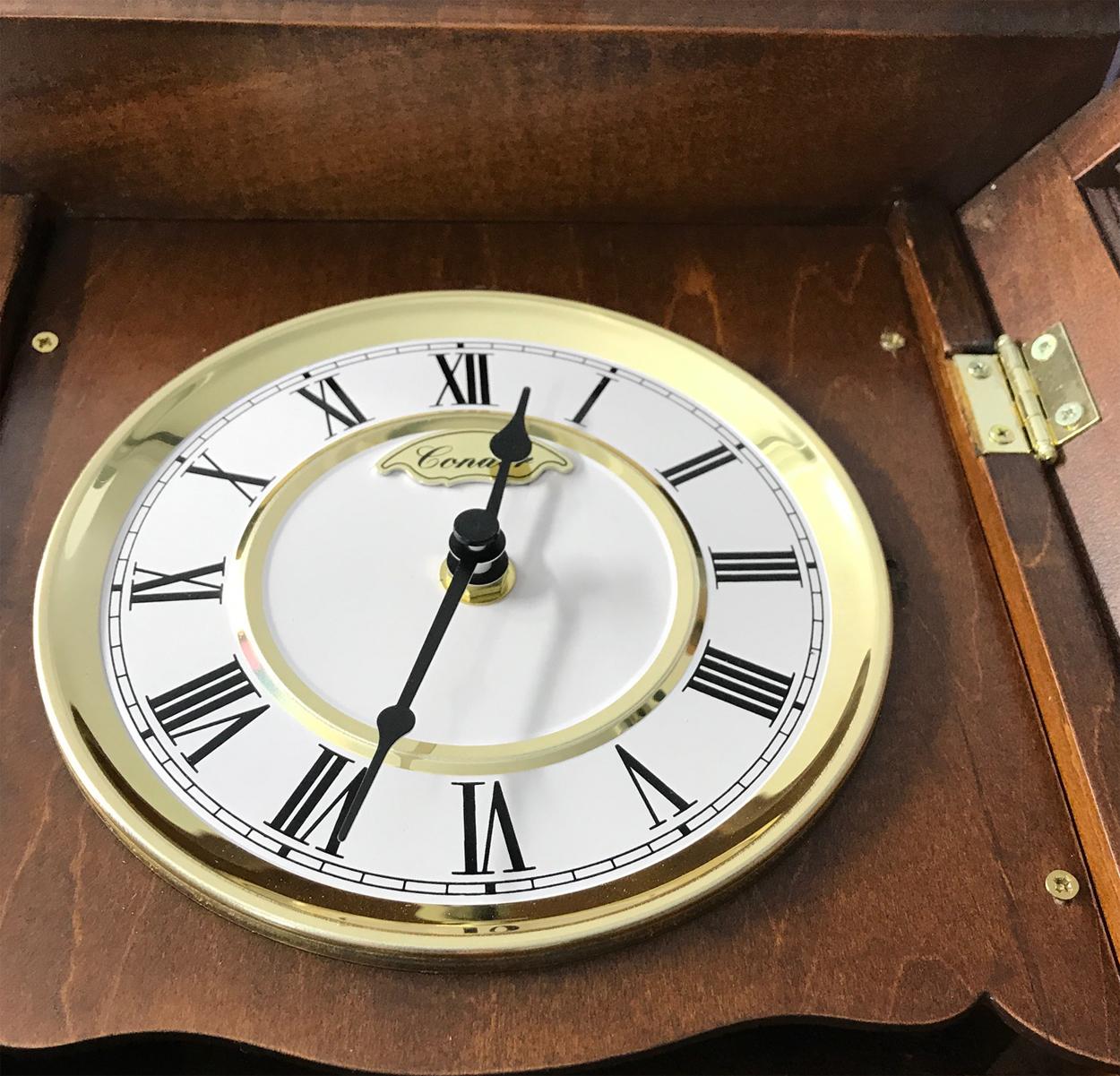 Reloj de p ndulo de pared con carrillon cuarzo 77cm for Reloj de pared con pendulo