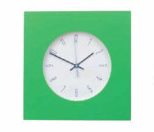 reloj pared verde